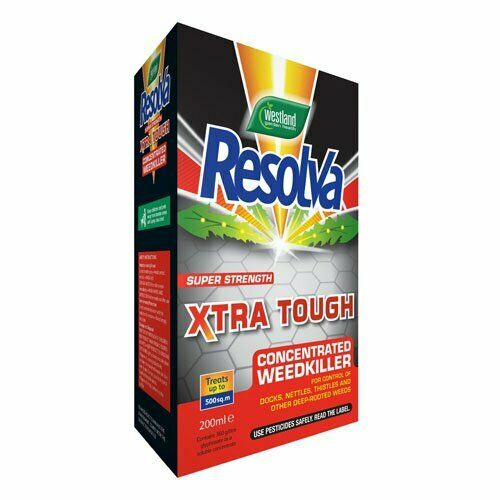 Resolve xtra Tough Concentrated Weedkiller- 200ml