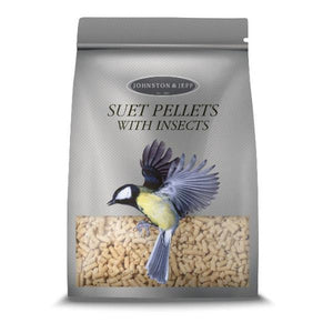 suet pellets with insects by johnson and jeff