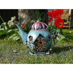 Fairy Kingdom Teapot Fairy House By Fountasia - Bells Gardening
