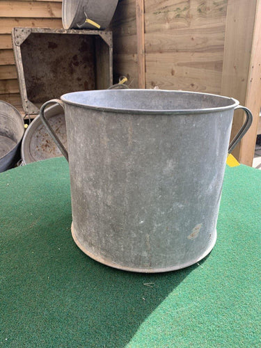 Original Vintage Short Handled Pale
