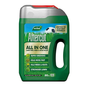 Westland Aftercut All In One Lawn Feed, Weed And Moss Killer
