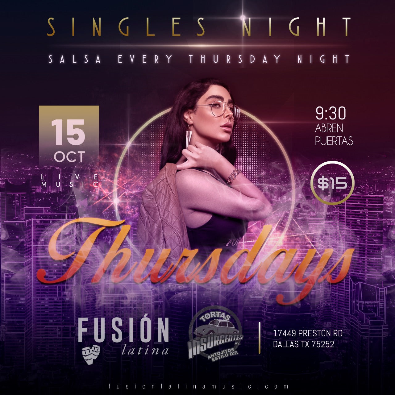 Single's Night - Fusion Latina Thursdays