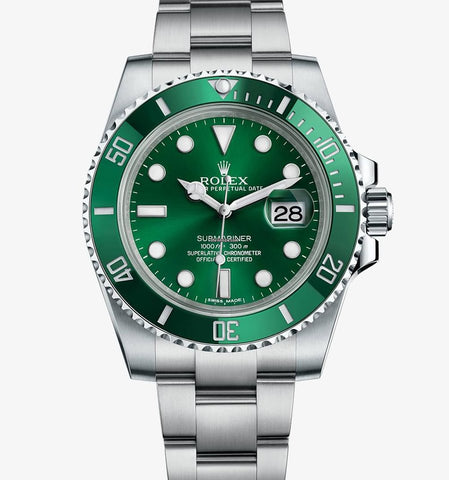 Rolex New 2019 Edition Submariner Date Hulk 116610LV