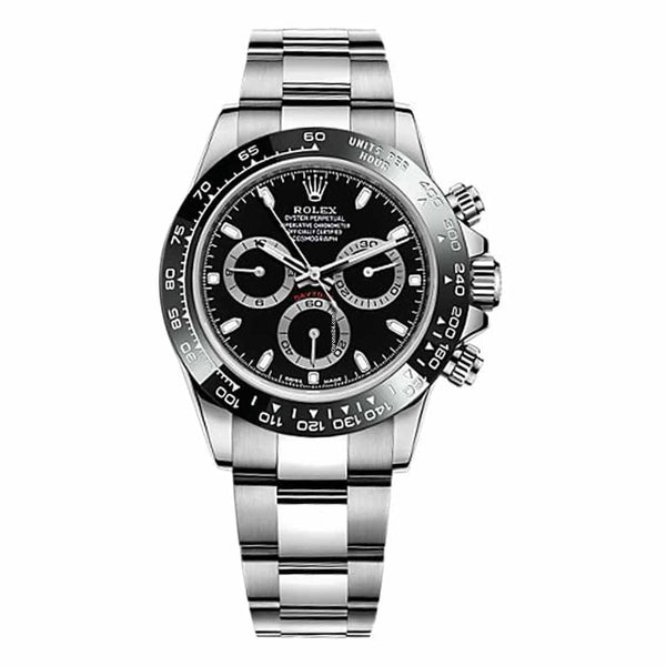 Rolex New Daytona Ceramic Bezel Black Dial 116500LN