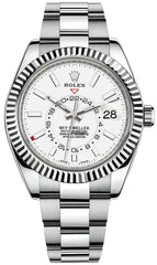 Rolex Sky-Dweller 42mm White Dial 326934
