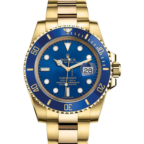 Rolex Submariner Date Gold 116618LB New 2019