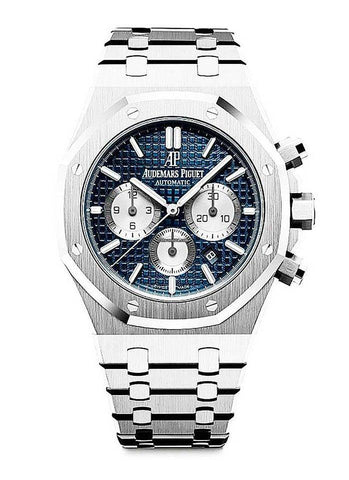 Audemars Piguet Royal Oak Chronograph 41mm Blue Dial 26331ST.OO.1220ST.01 - NY WATCH LAB