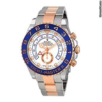 Rolex Yacht-Master II 44mm Steel & 18K Rose Gold Watch 116681