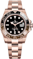 Rolex GMT-Master II Rose Gold New 126715CHNR