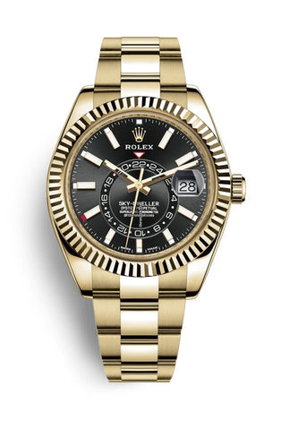 Rolex Sky-Dweller Black Dial 42 mm 326938