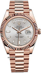 Rolex Day-Date 40mm Rose Gold Watch Sundust 228235