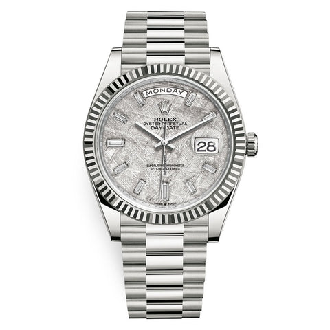 Rolex Day-Date 40mm White Gold 228239