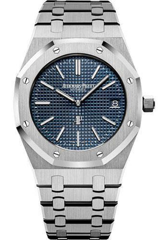 Audemars Piguet 39MM Royal Oak Blue Dial Watch