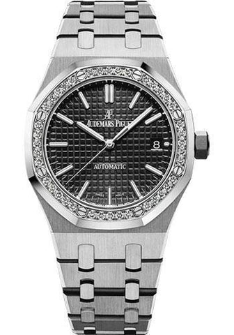 Audemars Piguet 37MM Black Dial Royal Oak Watch