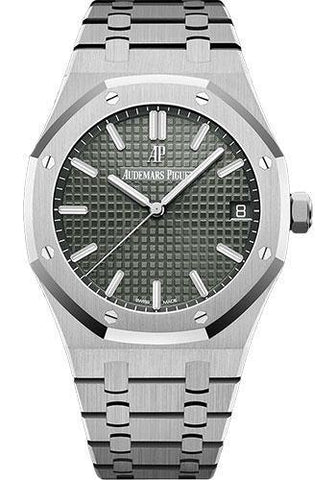 Audemars Piguet 41MM Grey Dial Royal Oak Watch