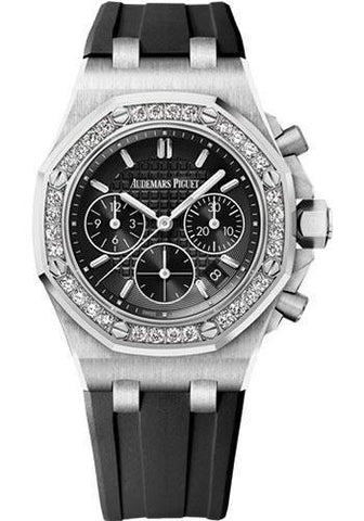 Audemars Piguet Royal Oak Offshore Chronograph Watch-Black Dial 37mm-26231ST.ZZ.D002CA.01 - NY WATCH LAB