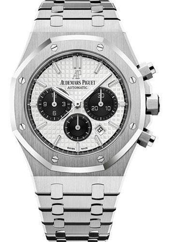 Audemars Piguet 41MM Silver Dial Royal Oak Watch