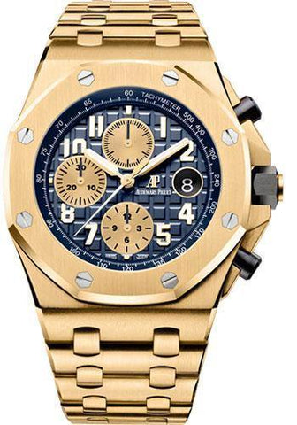 Audemars Piguet Royal Oak Offshore Chronograph Watch-Blue Dial 42mm-26470BA.OO.1000BA.01