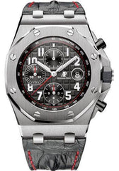 Audemars Piguet Royal Oak Offshore Chronograph Watch-Black Dial 42mm-26470ST.OO.A101CR.01