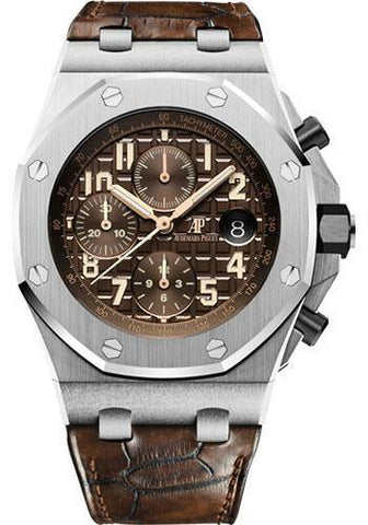 Audemars Piguet Royal Oak Offshore Chronograph Watch-Brown Dial 42mm-26470ST.OO.A820CR.01