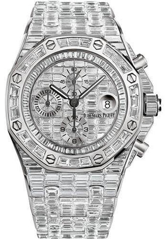 Audemars Piguet Royal Oak Offshore Chronograph Watch-Dial 42mm-26473BC.ZZ.8043BC.01 - NY WATCH LAB