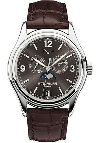 Patek Philippe 39mm Annual Calendar Compicated Watch Gray Dial 5146G - NY WATCH LAB