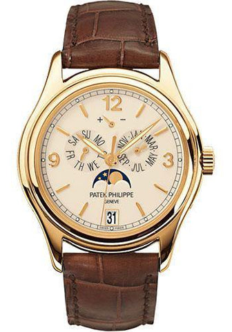 Patek Philippe 39mm Annual Calendar Compicated Watch Cream Dial 5146J