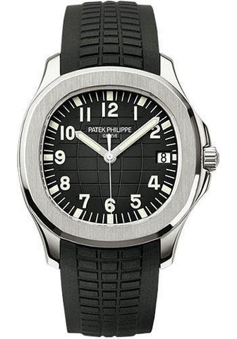 Patek Philippe 40mm Men's Aquanaut Watch Black Dial 5167A
