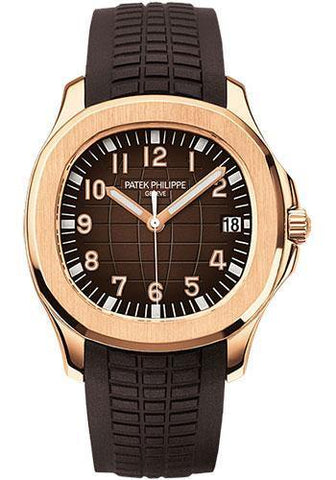Patek Philippe 40mm Men's Aquanaut Watch Chocolate Dial 5167R