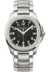 Patek Philippe 40mm Men's Aquanaut Watch Black Dial 5167/1A