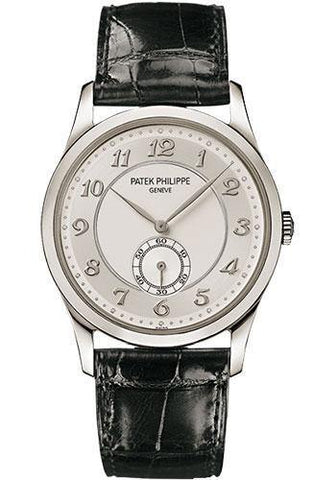 Patek Philippe 37mm Calatrava Watch Gray Dial 5196P