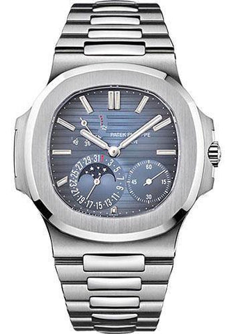 Patek Philippe 40mm Nautilus Watch Blue Dial 5712/1A - NY WATCH LAB