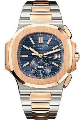 Patek Philippe 40.5mm Men Nautilus Watch Blue Dial 5980/1AR - NY WATCH LAB