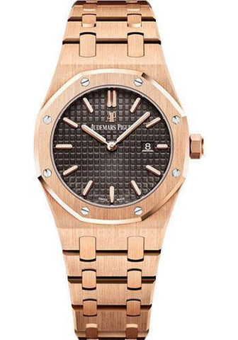 Audemars Piguet Quartz Brown Dial Royal Oak Watch