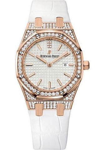 Audemars Piguet Silver Dial Ladies Royal Oak Watch