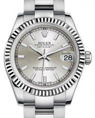 Buy Rolex Datejust 31 178274 | Silver Dial
