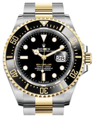 Rolex Sea-Dweller 43mm Case Yellow Gold/Steel Black Luminous Dial & Ceramic Bezel Oyster Bracelet 126603 - Fresh