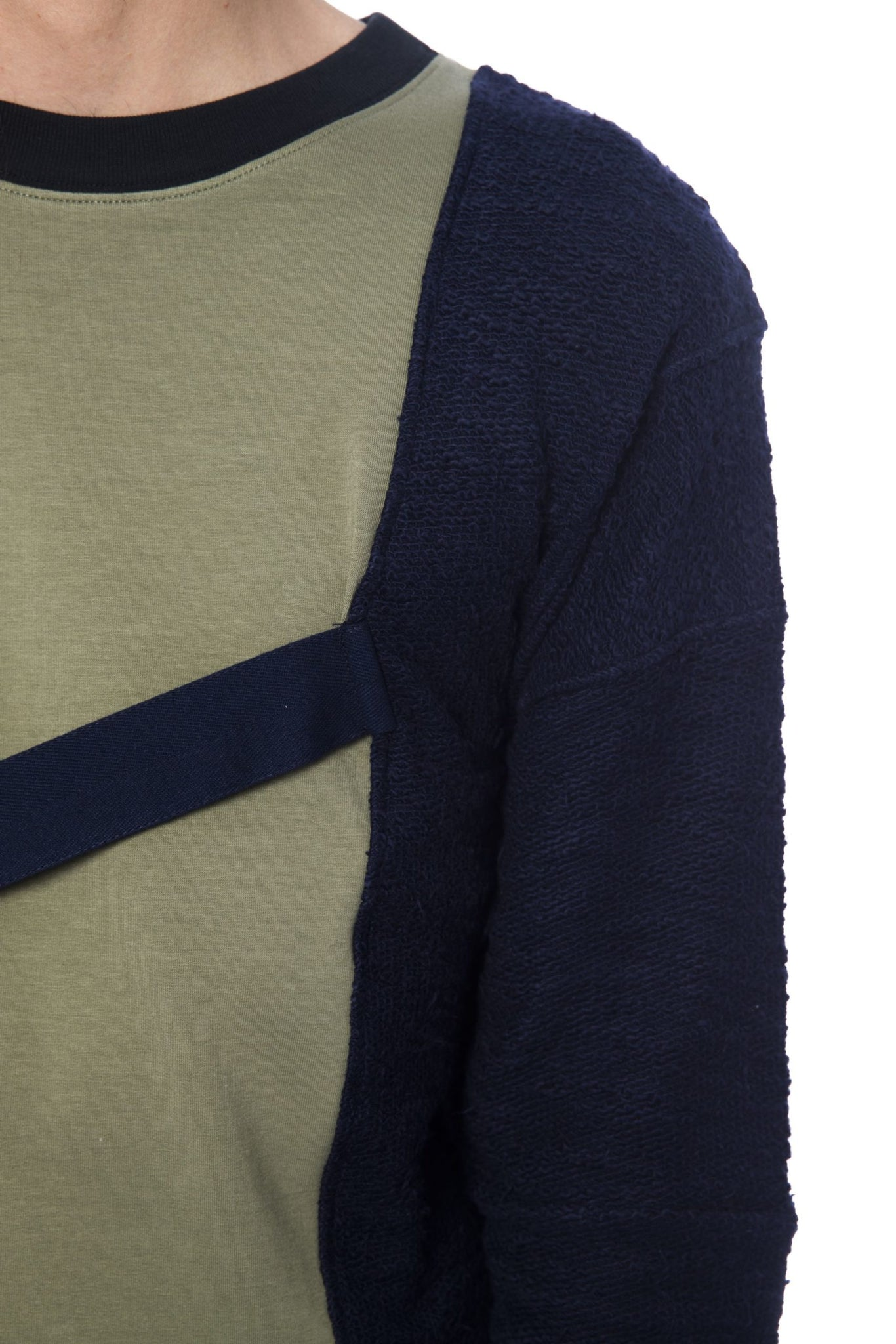Army Blue Sweater
