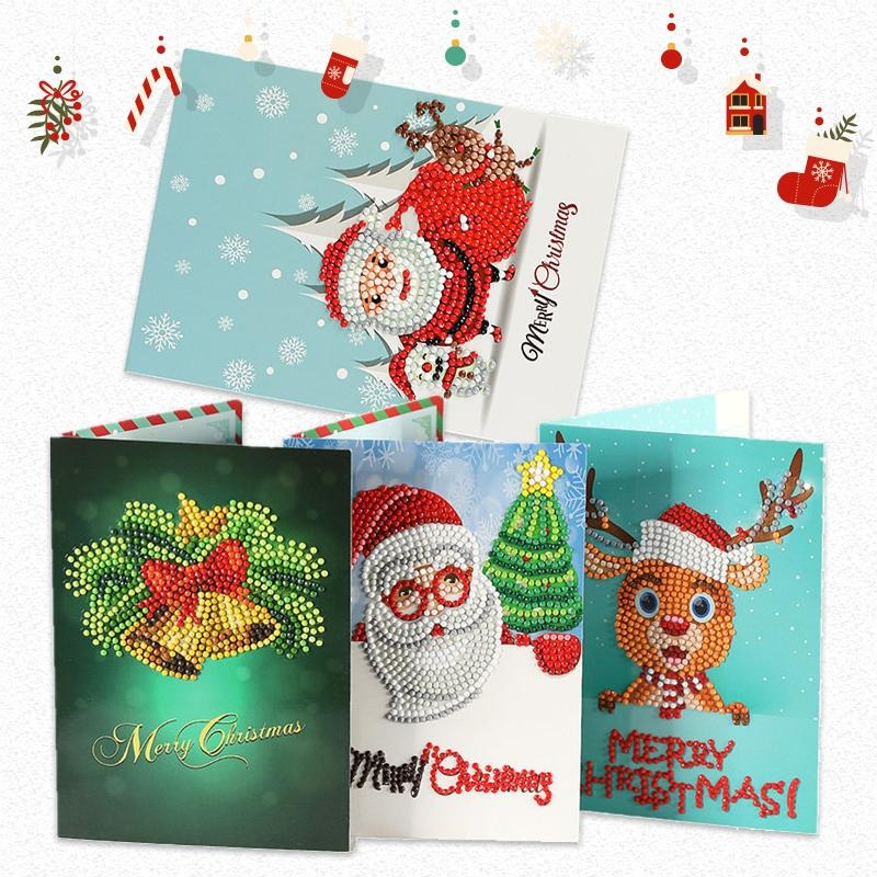Christmas Pre Promotion🎅Diamond Painting Christmas Card-BUY 2 GET 1 FREE TODAY!