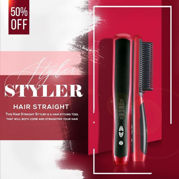 🔥$22.99 Last Few Days🔥50% OFF - Hair Straight Styler