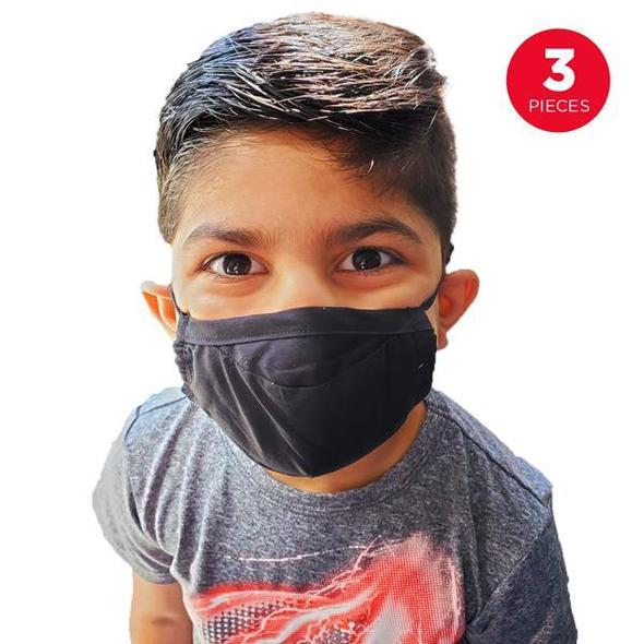 Quantum 2-Ply Cotton Reusable Face Mask (Set of 3 Masks) | Ships Within 48 Hours 【buy 4 set free shipping】