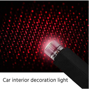 (SUMMER SALE- Save 50% OFF) Plug and Play- Car and Home Ceiling Romantic USB Night Light!- Buy More Save More