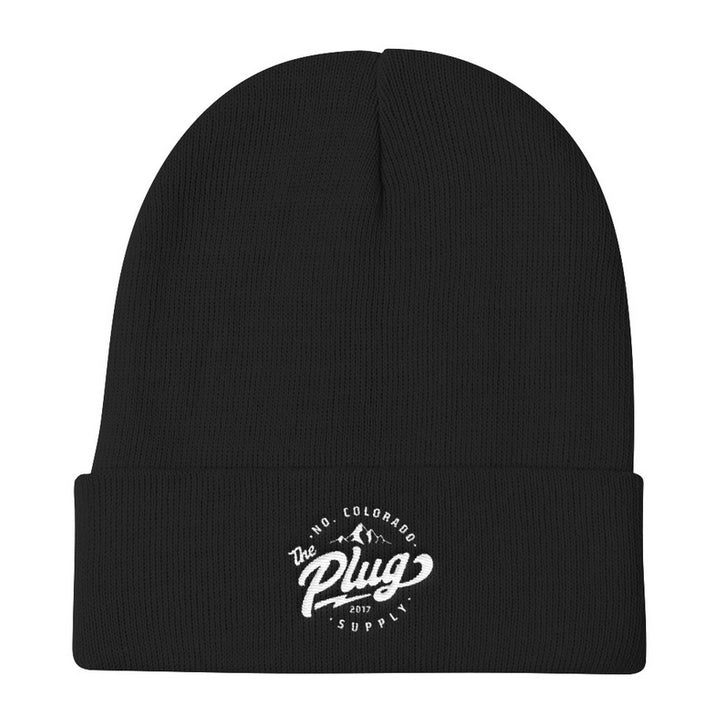 The Plug Cuffed Beanie (Stamp logo)
