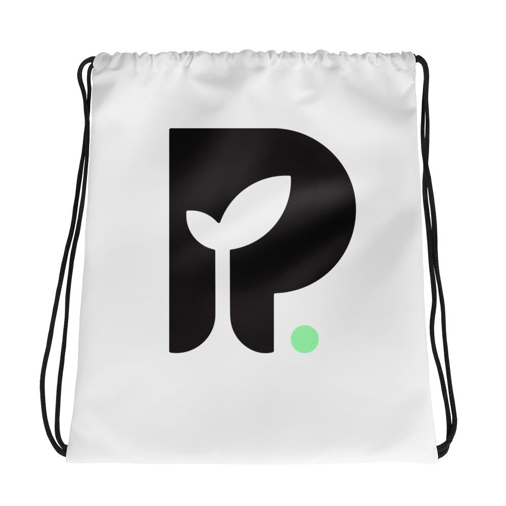 The Plug Drawstring Bag (P logo)