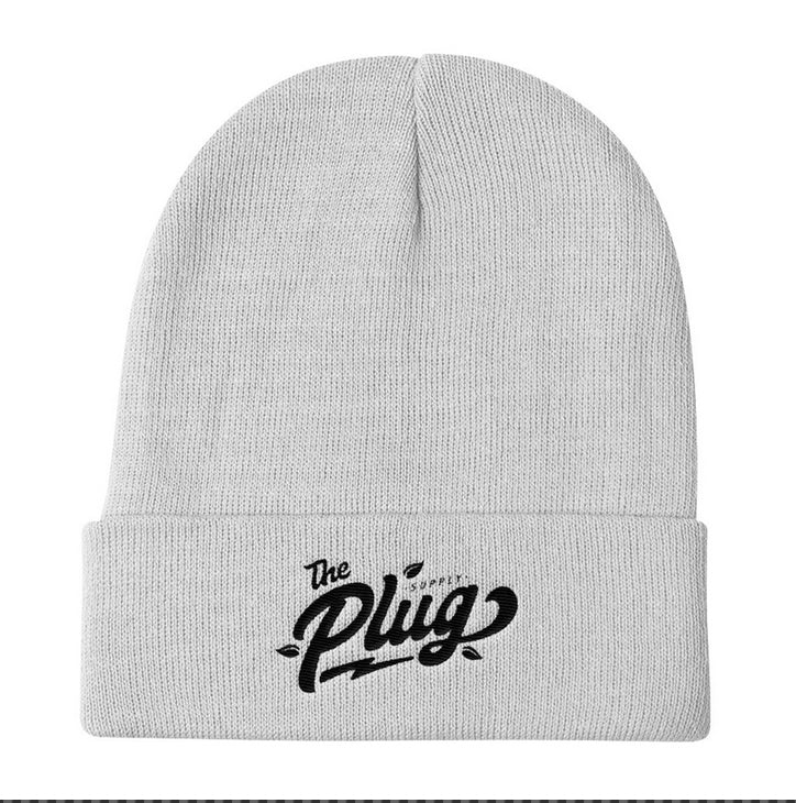 The Plug Cuffed Beanie (Plug logo)