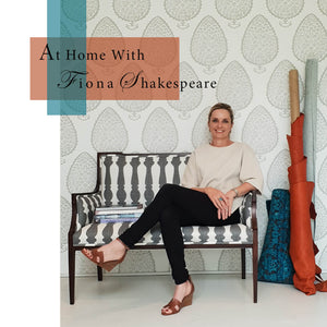 At Home With Fiona Shakespeare