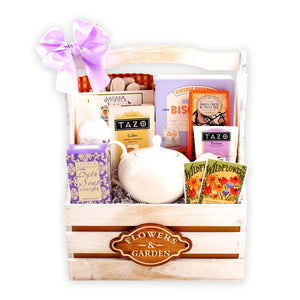 Flower and Garden Gift Basket