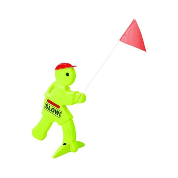 Step2 Kid Alert Visual Warning Signal V.W.S - 32-Inch Caution Go Slow Children At Play Signage