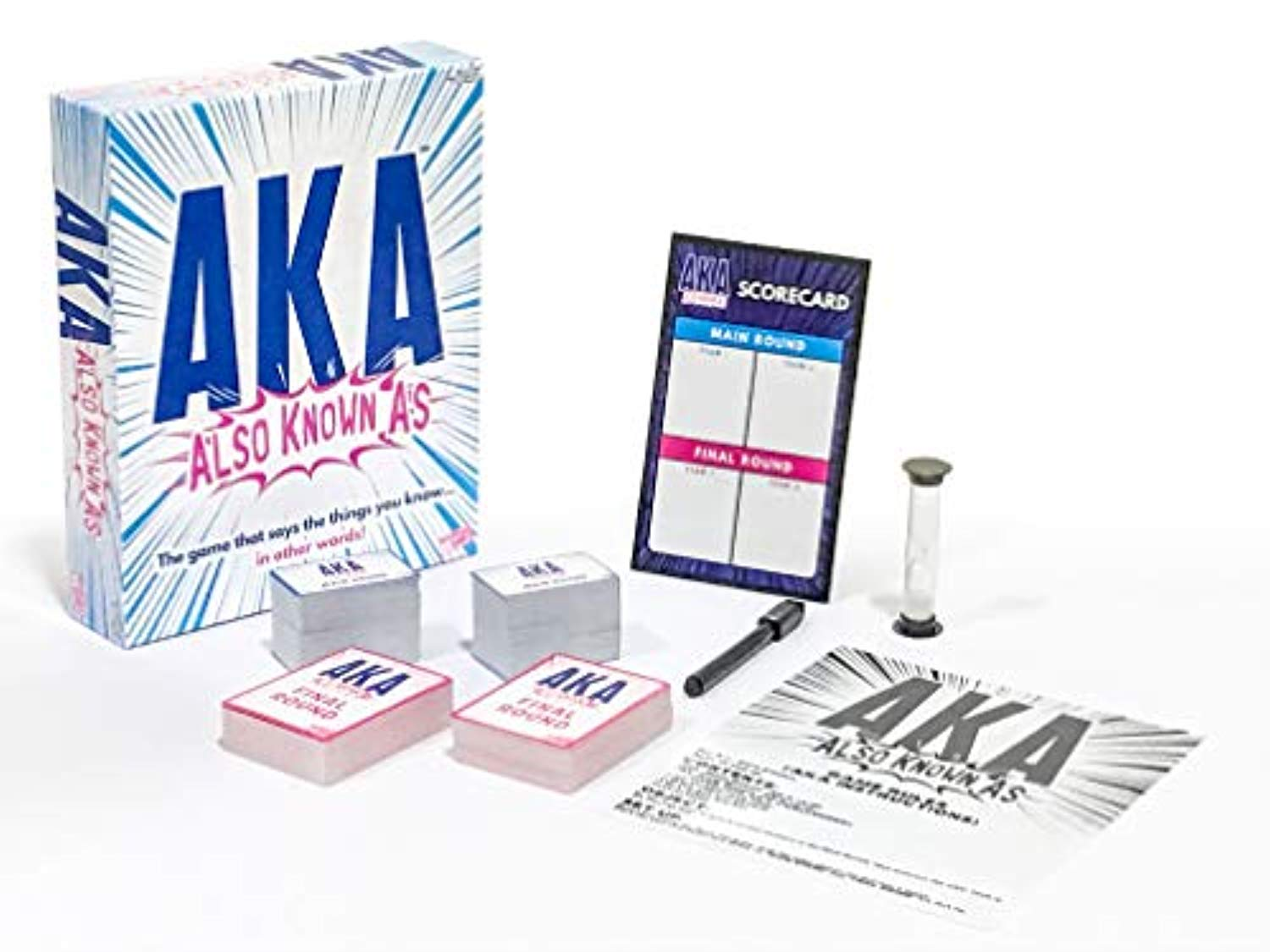 """Board Game AKA Word Game /""""Also Known As/"""" Wordplay Game Party NEW"""