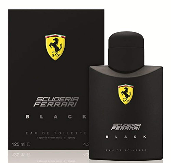 Ferrari Scuderia Black Eau De Toilette Spray For Men